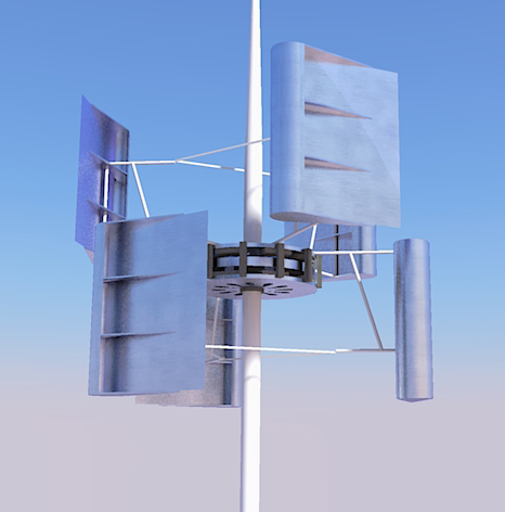 The VBINE: Small Scale Wind Turbine | Rich Vickaryous